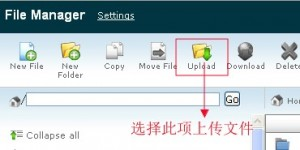 HostEase主机cPanel代替FTP上传方法
