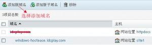 HostEase主机Plesk面板添加域名图文教程